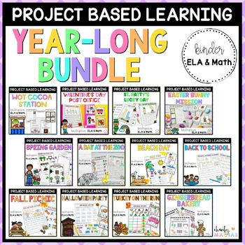 Project Based Learning (PBL) GROWING BUNDLE