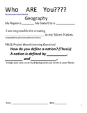 Project Based Learning Geography