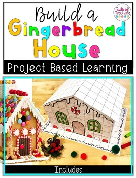 Project Based Learning Gingerbread House STEM