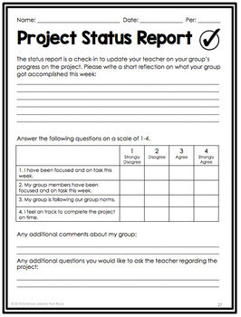 Project Based Learning Guide for Secondary Science