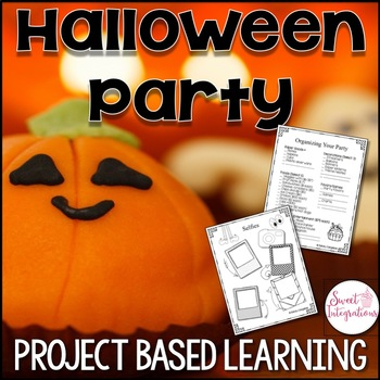 Project Based Learning: Halloween Party Planner With Math and Technology