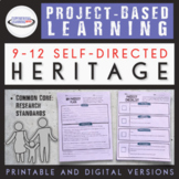 Project-Based Learning: Heritage {Printable and Digital Option}