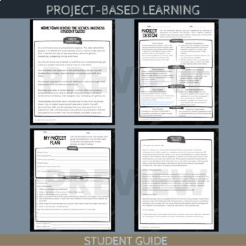 Project-Based Learning: Hometown Behind the Scenes (Local Business) - Advanced