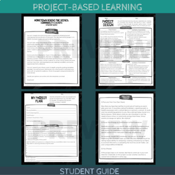 Project-Based Learning: Hometown Behind the Scenes (Community Event) - Advanced