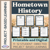 Project-Based Learning: Hometown History (mid-level PBL project)