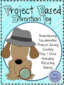 Project Based Learning Journal- Teacher's Guide, Vocabulary, Student Work Pages