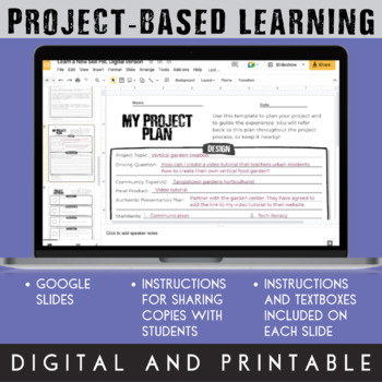 Project-Based Learning: Learn a New Skill (for beginner PBL learners)