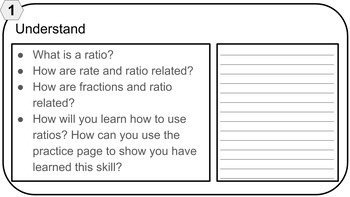 Project Based Learning: Math - Ratio