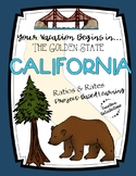 Project-Based Learning Math: Travel California Vacation (R