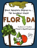 Project-Based Learning Math: Travel Florida Vacation (Ratios/Rates)