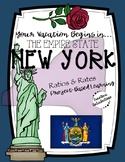 PBL Middle School Math: Travel New York Vacation (Ratios/Rates)