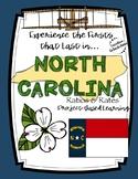 Project-Based Learning Math: Travel North Carolina Vacation (Ratios/Rates)