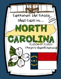 Project-Based Learning Math: Travel North Carolina Vacatio