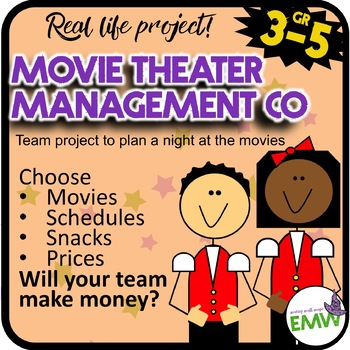Project Based Learning Movie Management Company Simulation