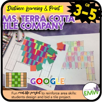 Project Based Learning Ms. Terra Cotta Tile Company (Area Focus)