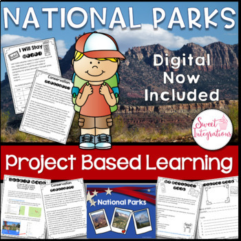 PROJECT BASED LEARNING: National Parks: PowerPoint, Resear