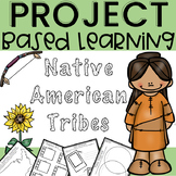 Native American Project Based Learning REGIONS SYMBOLS AND TRIBES with STEM