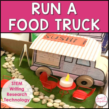 Project Based Learning Math And Stem Open And Design A Food Truck