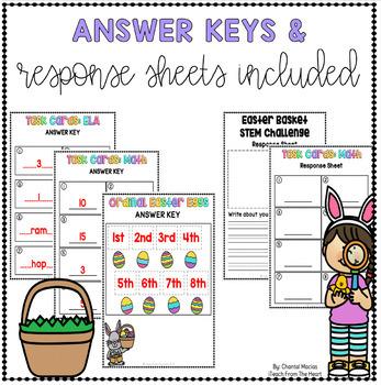 Easter Project Based Learning April - Kindergarten