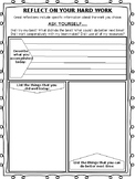 Project Based Learning (PBL) Student Self Reflection Sheet
