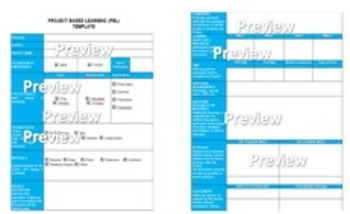 project based learning pbl template by the learning paradise tpt
