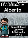 Project Based Learning Pack: Christmas In Alberta