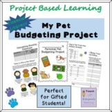 Project Based Learning - Pet Budgeting Project