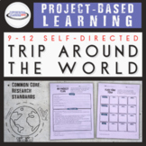 Project-Based Learning: Plan a Trip Around the World {Prin