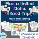 Project Based Learning: Plan a United States Road Trip