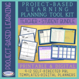 Project-Based Learning Planning Bundle: Teacher + Student
