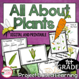 Project Based Learning | Plant Unit 1st Grade