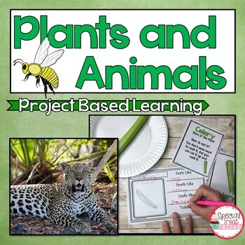 Project Based Learning Plants and Animals Bundle