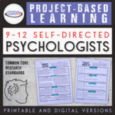 Project Based Learning Lesson Plans for High School Psychology