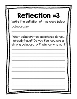 Project Based Learning Reflection Journal