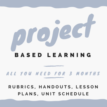 Project Based Learning: Research, Reading & Writing Make a Change in Community