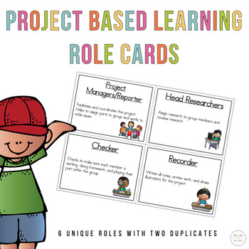 Project Based Learning Role Cards