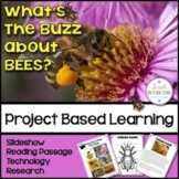 PROJECT BASED LEARNING: SAVE THE HONEY BEES With PowerPoint, STEM, Bee Hotel