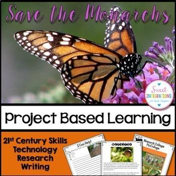 SAVE THE MONARCH BUTTERFLY | PROJECT BASED LEARNING SCIENCE | Google Slides™