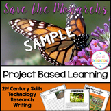Project Based Learning: Save the Monarchs FREE SAMPLE