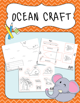 Project Based Learning: Sentences, Cut and Paste, 3D project, Ocean project