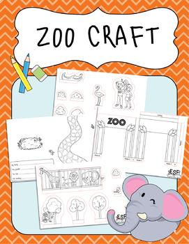 Zoo Scene 3D