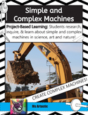 Simple Machines and Complex Machines: Project Based Learning Activity