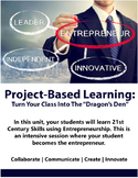 Project-Based Learning: 21st Century Skills Through Starting A Biz
