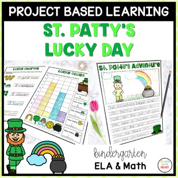 St. Patrick's Day Project Based Learning March - Kindergarten