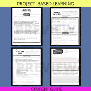 Project-Based Learning: Start a Club (for mid-level PBL learners)