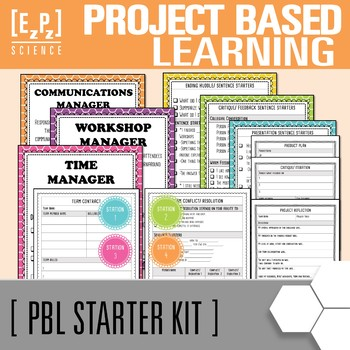 Project Based Learning Starter Package