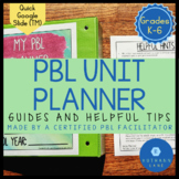Project Based Learning Lesson Plan Template PBL Unit Planner