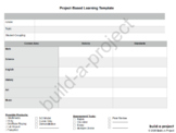 Project-Based Learning Template