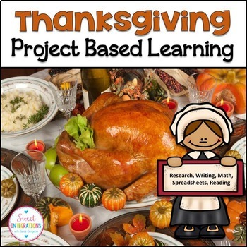PROJECT BASED LEARNING: THANKSGIVING Reading Passages and