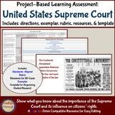 Project-Based Learning Assessment: The Supreme Court & Citizenship